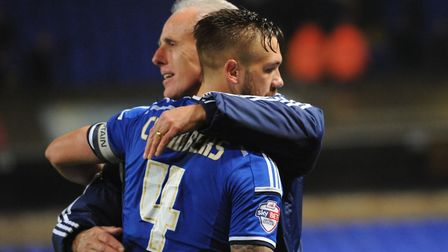 Chambers has played right-back under Mick McCarthy during his time at Ipswich. Picture: SARAH LUCY B