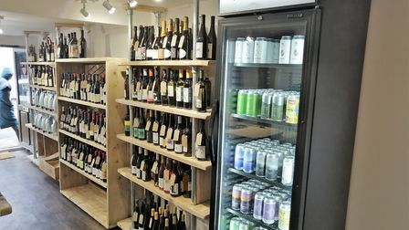 Hopsters Ipswich has launched Hopsters Express, selling craft beer in fridges at independent shops a