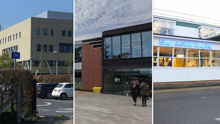 Ipswich Hospital/Colchester Hospital/West Suffolk Hospital. Picture: Archant