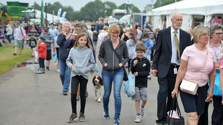 The Suffolk Show attracts 90,000 visitors over the two days Picture: SARAH LUCY BROWN