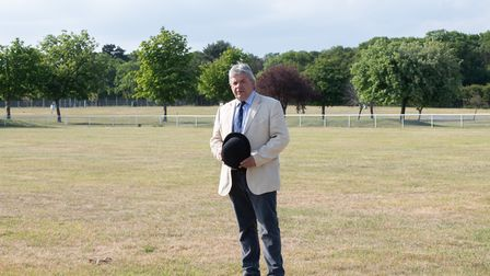 Hugely disappointed Suffolk Show director Bruce Kerr at Trinity Park who will now have to wait until