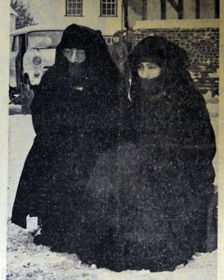 John Lennon and Yoko Ono visit Lavenham from East Anglian Daily Time from 1969 Photo: Archant
