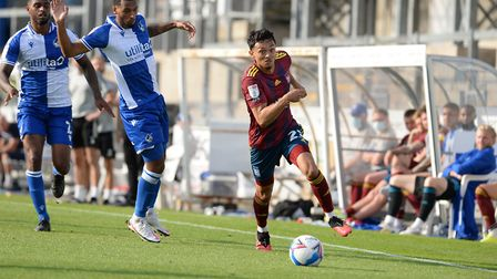Andre Dozzell has started all six of Ipswich Town's opening games of the 2020/21 season. Photo: Page