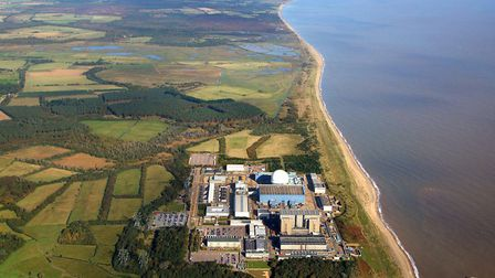 EADT; Mike Page Aerial Photo Library; Sizewell looking north; PICTURE COPYRIGHT MIKE PAGE - PICTURES