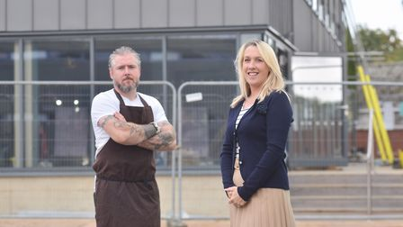 Emma Cole has left teaching behind to open Woodbridge's first waterside restaurant. The Boathouse Ki