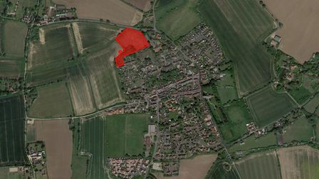 A 28-home estate in Mendlesham has been approved at a council meeting. Picture: GOOGLE MAPS