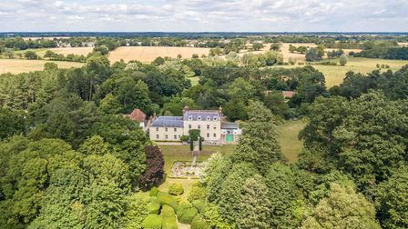 The Old Rectory at East Bergholt, on the Suffolk-Essex border, is for sale for �2.85m. Picture: Jack