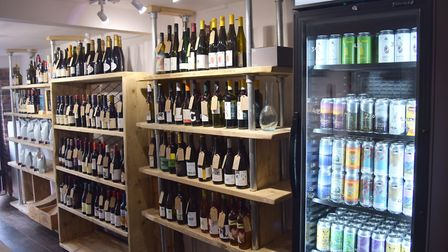 As well as wines, Saltpeter Wines will be selling craft beers from Ipswich indepedent business Hopst