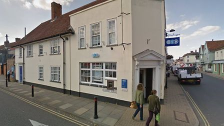 The Hadleigh branch of TSB is set to close next May Picture: GOOGLE MAPS