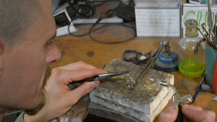 'Once we have finalised the details of the piece, we can start crafting it.' Picture: Carats Jewelle