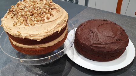 Homemade cakes will be available every day at Plant Cafe - a vegan cafe opening in Woodbridge's Thor