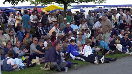 Watching the Fab Beatles at the Suffolk Show in 2003 Picture: OWEN HINES/ARCHANT