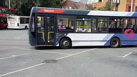 Buses are still having to operate with very few passengers. Picture: PAUL GEATER