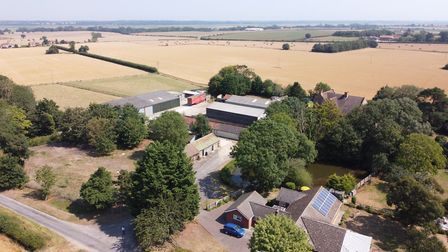 Aldeby House Farm, Beccles, which is on the market Picture: RUFUS OWEN/FULL ASPECT