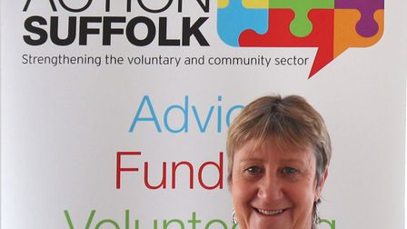 Christine Abraham, CEO of Community Action Suffolk, said confidence was returning in the voluntary s