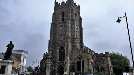 St Peter's Church in Sudbury has been given nearly £1.7m by the Heritage Lottery Fund. Picture: PAUL