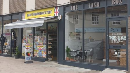 The Lash Box and Daily Covenience Store, in East Street, are just two of the 10 new businesses opene