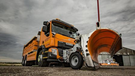 One of the new Highways England gritting lorries. PIcture: Highways England