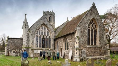 St Mary's Church at Rickinghall Picture: CHRIS REDGRAVE/ HISTORIC ENGLAND