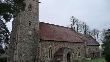 St Peter's Church Sibton Picture: TOM KUPPER/HISTORIC ENGLAND