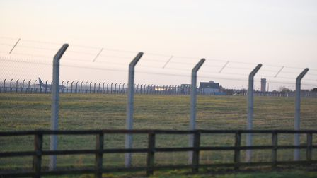 A review is to be carried out into the safety of roads around US bases in the UK including RAF Milde