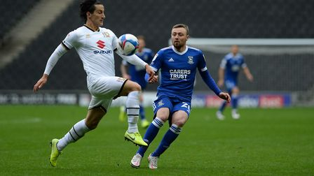 Freddie Sears keeping up the pressure at MK Dons. Picture Pagepix Ltd