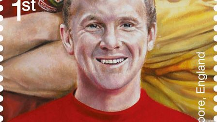 The Royal Mail's Bobby Moore stamp