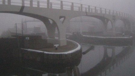 Gordon Joly's picture of Bow Locks submitted to the Canal Trust's photo competition last year