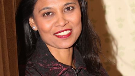 British Labour MP Rushanara Ali at her office in the Houses of Parliament.