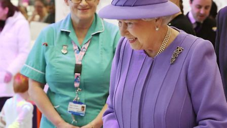 The Queen at the Royal London last week