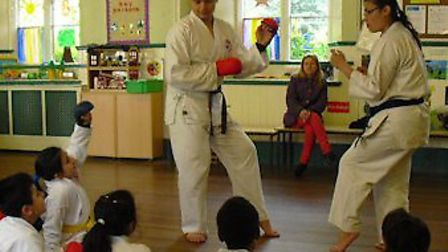Manor Park karate members won medals at an international competition