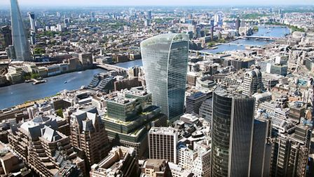 'Iconic' 20 Fenchurch St tower... not a million miles from The Shard