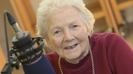 Vera Welch, 86, has sung on a charity record set to be released later this year