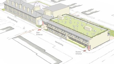 Architects' plans for the future of Woolmore Primary School
