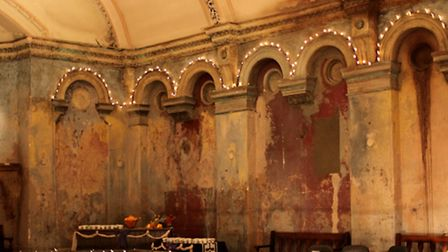 Inside Wilton's Music Hall in Graces Alley, Shadwell