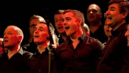 The London Gay Men's Chorus are preparing for the fundraising concert next month