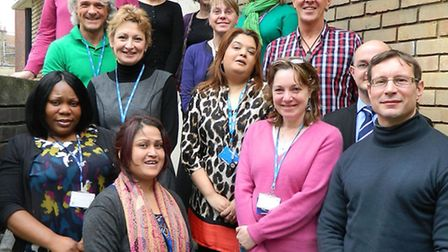 Staff who run drop-in sessions at Brick Lane's Heath E1 clinic for homeless