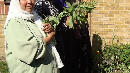 Members of the Selby Estate Gardening Club