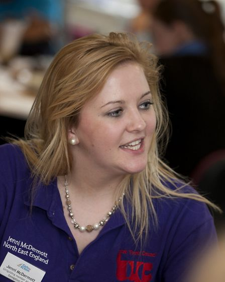 Jenni McDermott, 20, is the Chair of the GirlGuiding delegation for the British Youth Council.