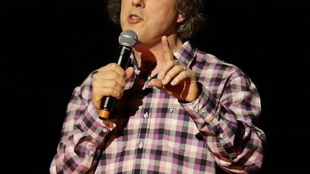 Alan Davies, who is on the bill for the Brick Lane Comedy Festival