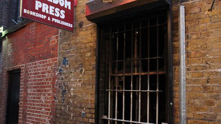 Freedom Press book shop was victim of an arson attack in the early hours of Friday 1st February.