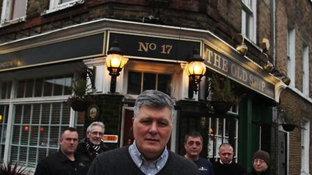 Pub owner John Fell together with some of his regular customers launch a campaign to save The Old Sh