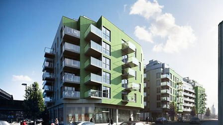 Plans for flats to be built in Bethnal Green