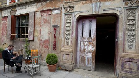 The Wilton's Music Hall in Graces Alley.