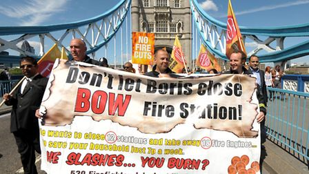 March to save Bow fire station