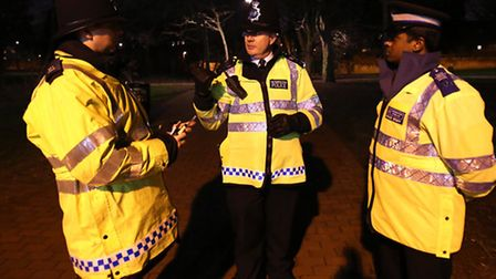 Police patrols were stepped up around Wapping Woods after two women were stabbed there in December