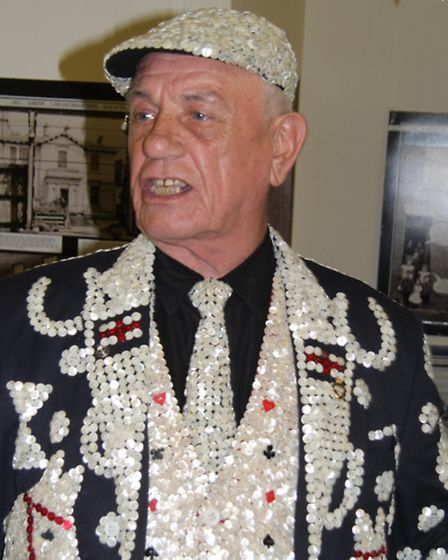 John Scott, Rhyming Slang comic and Pearly King of Mile End