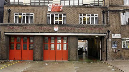 Shadwell fire station, opened 1910