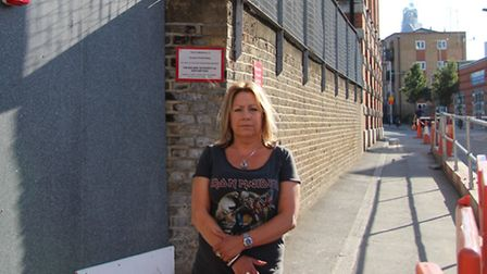 Ripper suspect Charles Lechmere's great, great-granddaughter, Sue Lechmere, at spot where her ancest