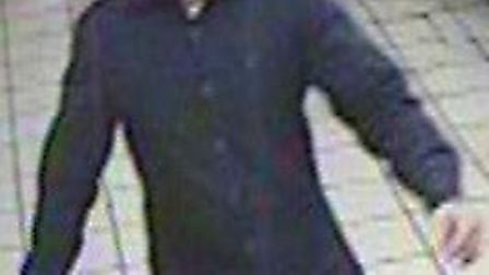 Do you recognise this man? Police want to talk to him after an attempted robbery at Bethnal Green Un